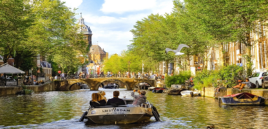 Paris, Países Baixos e Reno