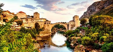 Croácia, Bósnia e Eslovénia