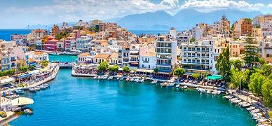 Atenas, Santorini & Creta